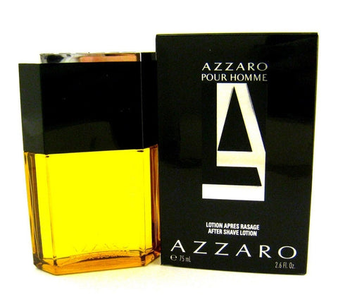 Azzaro Pour Homme Men by Azzaro After Shave Splash Lotion 2.6 oz - Cosmic-Perfume