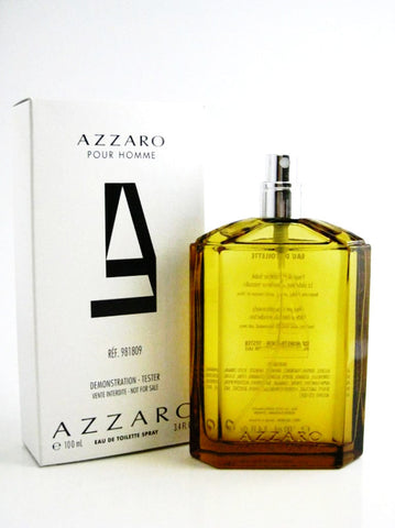 Azzaro pour Homme for Men by Loris Azzaro EDT Spray 3.4 oz (Tester) - Discount Fragrance at Cosmic-Perfume