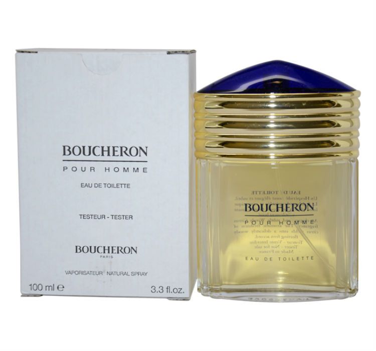 Boucheron Pour Homme Men by Boucheron EDT Spray 3.3 oz (Tester)