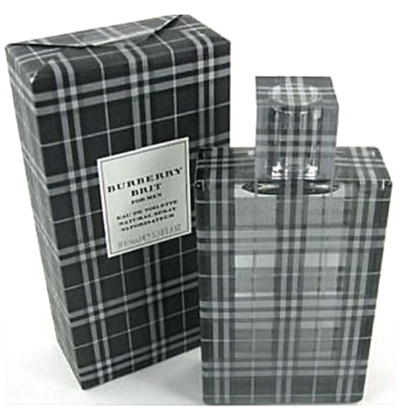 Burberry Brit for Men by Burberry EDT Spray 3.3 oz - Cosmic-Perfume