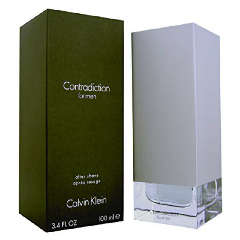 Contradiction for Men by Calvin Klein After Shave Splash 3.4 oz