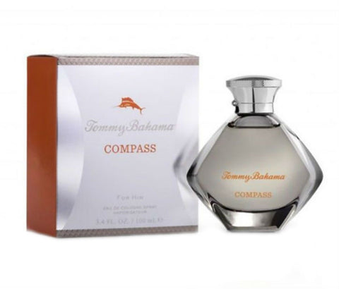 Compass for Men by Tommy Bahama Eau de Cologne Spray 3.4 oz - Discount Fragrance at Cosmic-Perfume