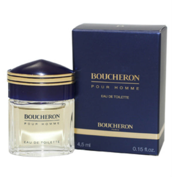 Boucheron Pour Homme for Men EDT Splash Miniature 0.15 oz - Discount Fragrance at Cosmic-Perfume