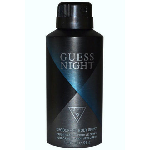 Guess Night for Men Deodorant Body Spray 150 ml (96 gr) - Discount Bath & Body at Cosmic-Perfume