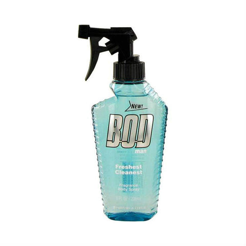Bod Man Freshest Cleanest for Men Fragrance Body Spray 8 oz - Discount Fragrance at Cosmic-Perfume