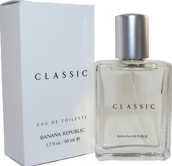 Banana Republic Classic for Men by Banana Republic EDT Spray 1.7 oz - Discount Fragrance at Cosmic-Perfume