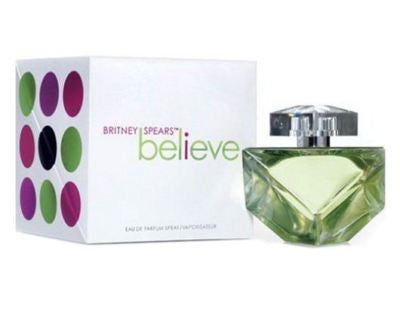 Believe for Women by Britney Spears EDP Spray 3.3 oz - Cosmic-Perfume