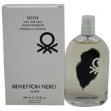 Benetton Nero Man for Men by Benetton EDT Spray 3.3 oz  (Tester) - Cosmic-Perfume