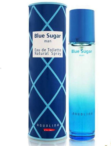Blue Sugar for Men by Aquolina EDT Spray 1.7 oz (New in Box) - Cosmic-Perfume