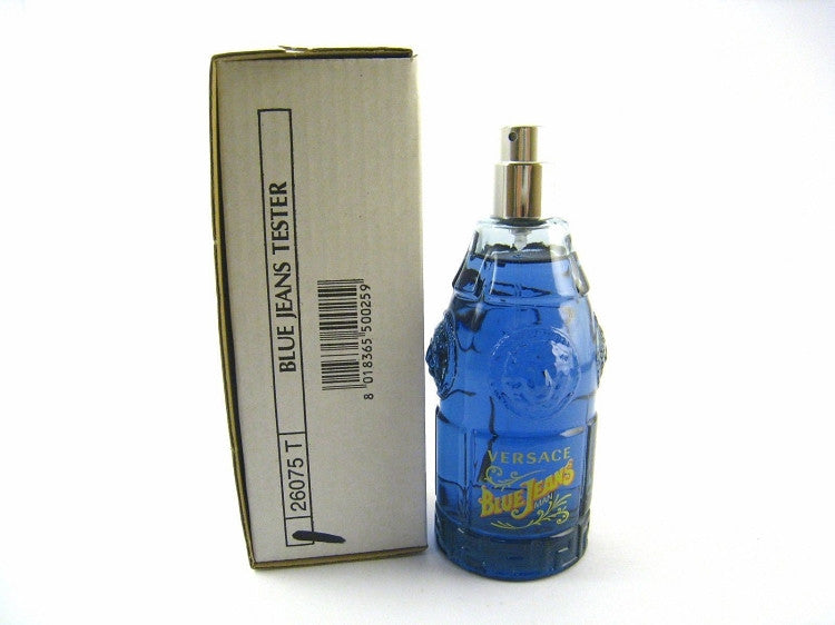 Versace Blue Jeans for Men by Versace EDT Spray 2.5 oz (Tester) - Cosmic-Perfume