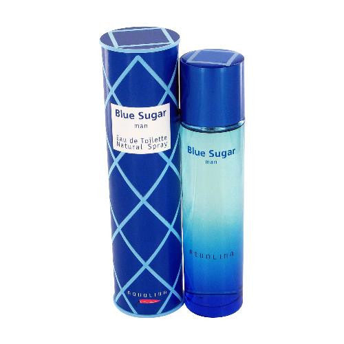 Blue Sugar for Men by Aquolina EDT Spray 3.4 oz (New in Box) - Discount Fragrance at Cosmic-Perfume