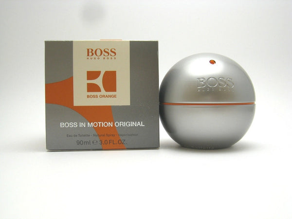 Boss in Motion Original (Orange) for Men by Hugo Boss EDT Spray 3.0 oz - Discount Fragrance at Cosmic-Perfume