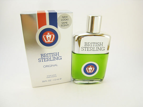 British Sterling for Men by Dana After Shave Splash 3.8 oz. - Discount Bath & Body at Cosmic-Perfume