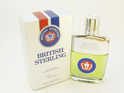British Sterling for Men by Dana Cologne Splash 3.8 oz - Discount Fragrance at Cosmic-Perfume