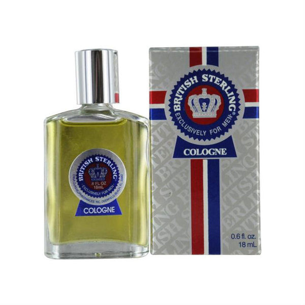 British Sterling for Men by Dana Cologne Travel Splash 0.6 oz - Discount Fragrance at Cosmic-Perfume