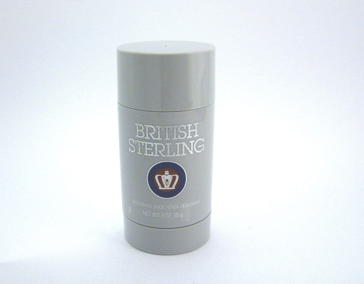 British Sterling (New Design) for Men by Dana Parfums Deodorant Stick 3.0 oz - Cosmic-Perfume