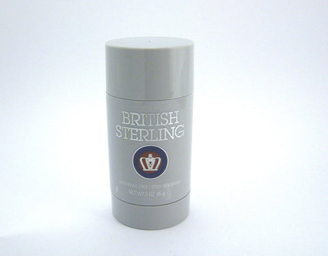 British Sterling (New Design) for Men by Dana Parfums Deodorant Stick 3.0 oz - Discount Bath & Body at Cosmic-Perfume