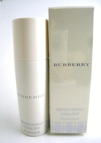 Burberry Classic for Women by Burberry Perfumed Deodorant Spray 5.0 oz - Discount Bath & Body at Cosmic-Perfume