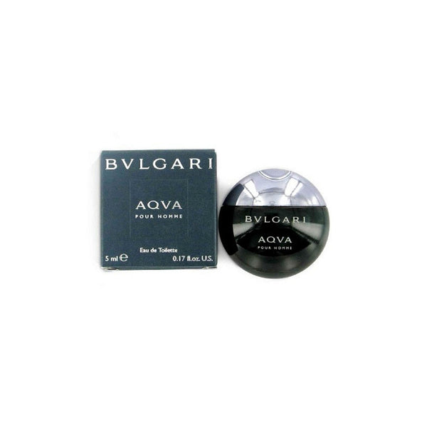 AQVA pour Homme for Men by Bvlgari EDT Miniature Splash 0.17 oz - Discount Fragrance at Cosmic-Perfume