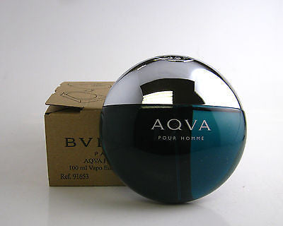 AQVA pour Homme for Men by Bvlgari EDT Spray 3.4 oz (Tester) - Discount Fragrance at Cosmic-Perfume
