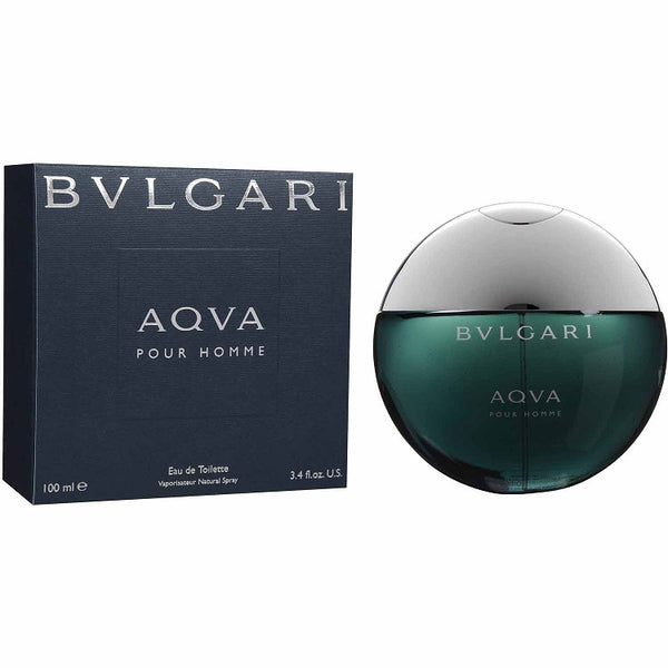 AQVA pour Homme for Men by Bvlgari EDT Spray 3.4 oz - Discount Fragrance at Cosmic-Perfume