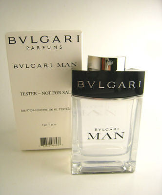 BVLGARI MAN for Men by Bvlgari EDT Spray 3.4 oz (Tester) - Discount Fragrance at Cosmic-Perfume