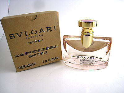 Bvlgari Rose Essentielle for Women by Bvlgari EDP Spray 3.4 oz (Tester) - Cosmic-Perfume