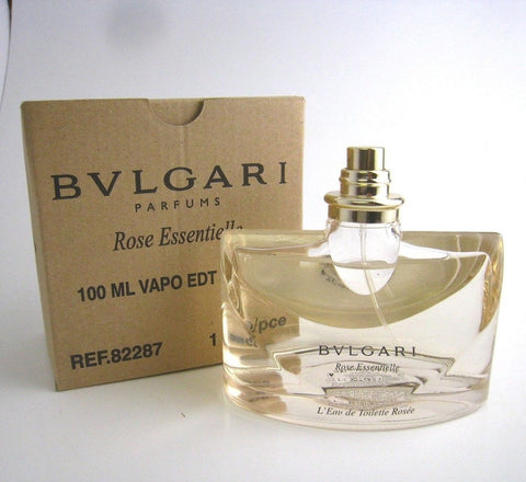 Bvlgari Rose Essentielle pour Femme for Women by Bvlgari EDT Spray 3.4 oz (Tester) - Discount Fragrance at Cosmic-Perfume
