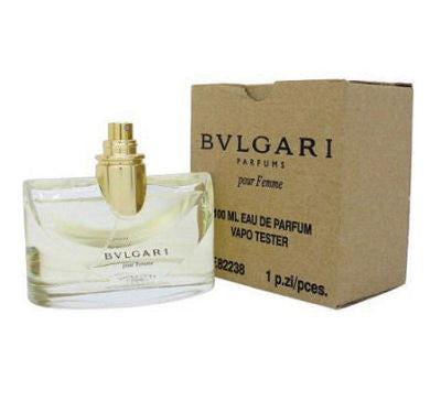 Bvlgari pour Femme by Bvlgari EDP Spray 3.4 oz (Tester) - Discount Fragrance at Cosmic-Perfume
