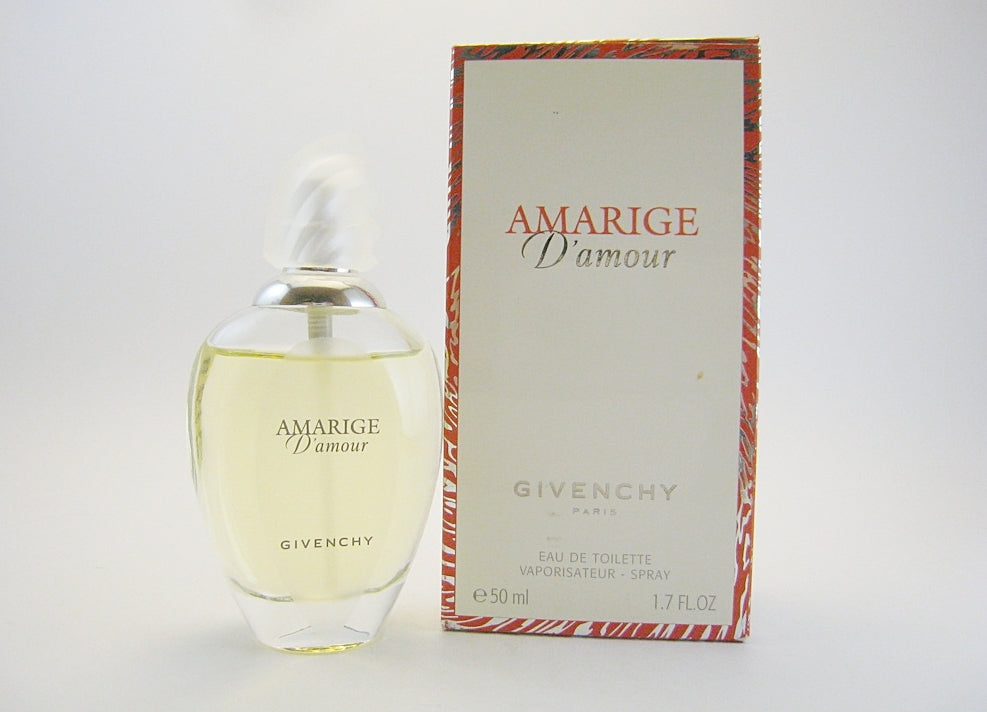 Amarige d'Amour for Women by Givenchy EDT Spray 1.7 oz *Worn Box