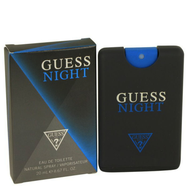 Guess Night for Men EDT Spray 0.67 oz *Worn Box - Cosmic-Perfume