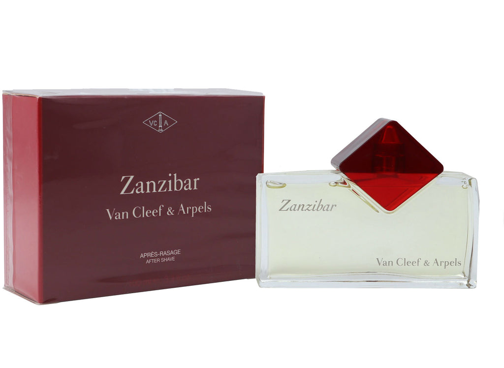 Zanzibar for Men by Van Cleef & Arpels After Shave Splash 3.3 oz *Rare