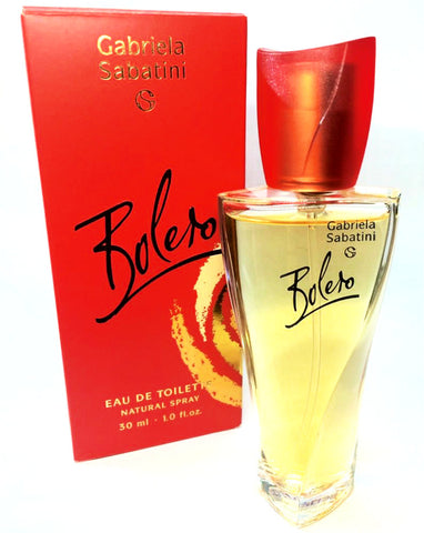 Bolero for Women by Gabriela Sabatini EDT Spray 1.0 oz - Discount Fragrance at Cosmic-Perfume