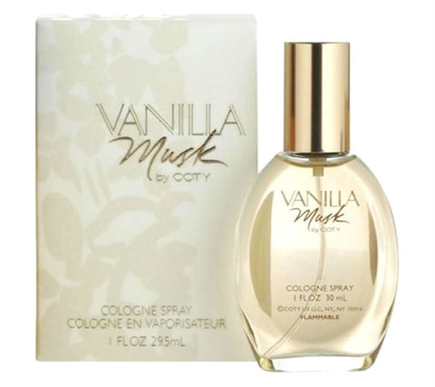 Vanilla Musk for Women by Coty Cologne Spray 1.0 oz - Cosmic-Perfume