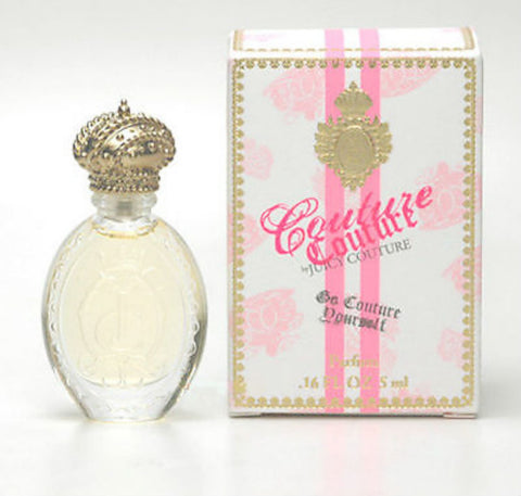 Couture Couture for Women by Juicy Couture Parfum Miniature 0.16 oz - Cosmic-Perfume