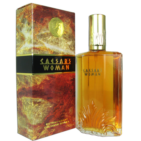 Caesars Woman by Caesars Extravagant Cologne Spray 3.3 oz (New in Box) - Discount Fragrance at Cosmic-Perfume