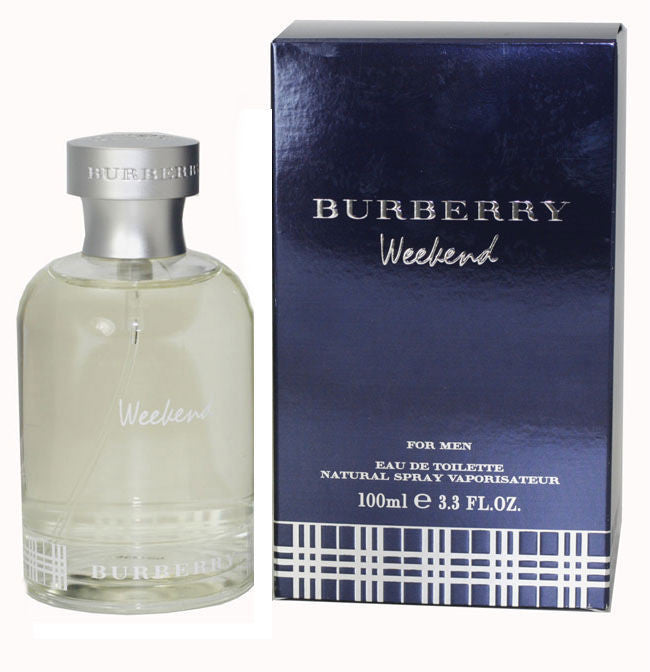 Burberry Weekend for Men by Burberry EDT 3.3 oz *Damaged Box - Cosmic-Perfume