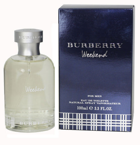 Burberry Weekend for Men by Burberry EDT 3.3 oz *Damaged Box - Discount Fragrance at Cosmic-Perfume