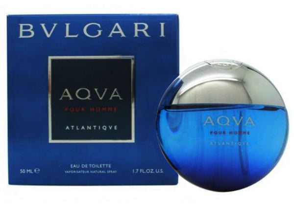 AQVA ATLANTIQUE Pour Homme for Men by Bvlgari EDT Spray 3.4 oz - Cosmic-Perfume