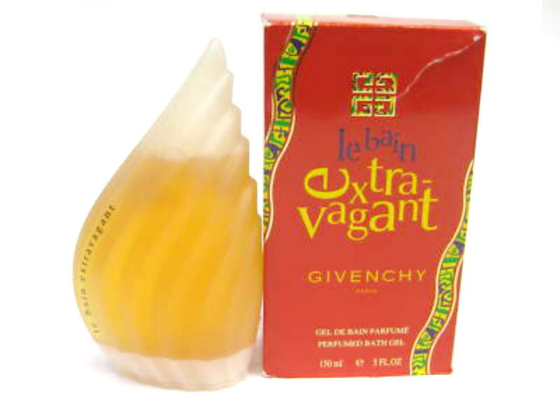 Le Bain Extravagant for Women by Givenchy Perfumed Bath Gel 5.0 oz *Worn Box
