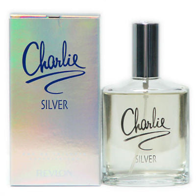 Charlie Silver for Women by Revlon EDT Spray 3.4 oz - Cosmic-Perfume