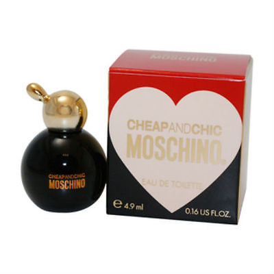 Cheap & Chic for Women by Moschino EDT Miniature Splash 0.16 oz - Discount Fragrance at Cosmic-Perfume