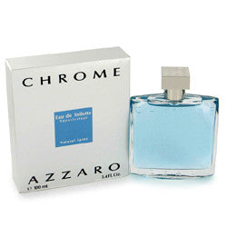 Azzaro Chrome for Men by Loris Azzaro EDT Spray 6.8 oz (New in Sealed Box) - Discount Fragrance at Cosmic-Perfume