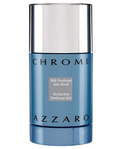 Azzaro Chrome for Men by Loris Azzaro Alcohol-Free Deodorant Stick 2.7 oz (Unboxed) - Discount Bath & Body at Cosmic-Perfume