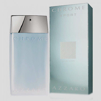 Azzaro Chrome Sport for Men by Azzaro EDT Spray 1.7 oz - Cosmic-Perfume