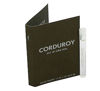 Corduroy for Men by Zirh International EDT Spray Vial 0.05 oz - Discount Fragrance at Cosmic-Perfume