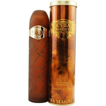Cuba Gold Magnum for Men by Cuba Paris EDT Spray 4.2 oz - Discount Fragrance at Cosmic-Perfume