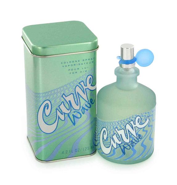 Curve Wave for Men by Liz Claiborne Cologne Spray 4.2 oz - Cosmic-Perfume