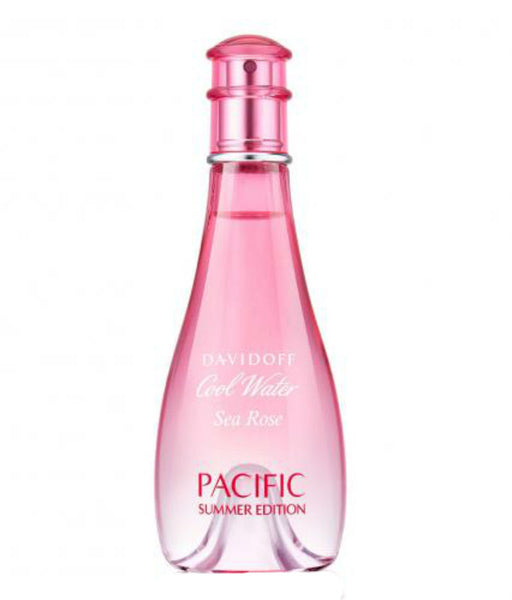 Cool Water Sea Rose Pacific Summer for Women by Davidoff EDT Spray 3.4 oz (Tester) - Cosmic-Perfume