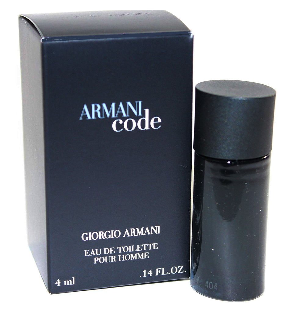 Armani Code for Men by Giorgio Armani EDT Miniature Splash 0.14 oz  (New in Box)